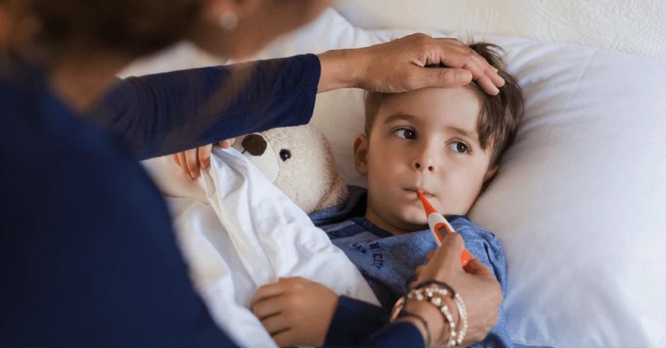 Висока температура при децата 2